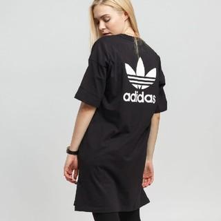 アディダス(adidas)のTシャツ ワンピ アディダスオリジナルス(ひざ丈ワンピース)