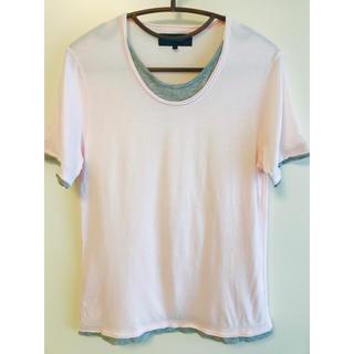 シップスジェットブルー(SHIPS JET BLUE)のSHIPS JET BLUE Tシャツ 半袖 カットソー 薄ピンク (Tシャツ/カットソー(半袖/袖なし))