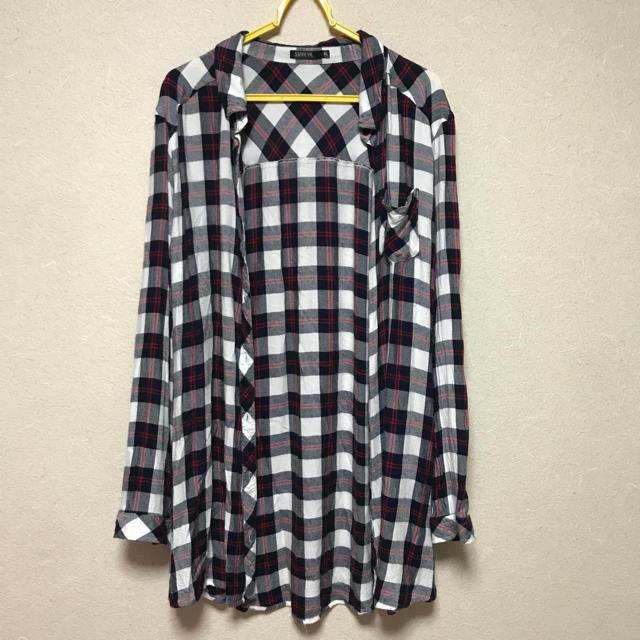 しまむら(シマムラ)のリネンネルシャツ レディースのトップス(シャツ/ブラウス(長袖/七分))の商品写真