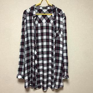 シマムラ(しまむら)のリネンネルシャツ(シャツ/ブラウス(長袖/七分))