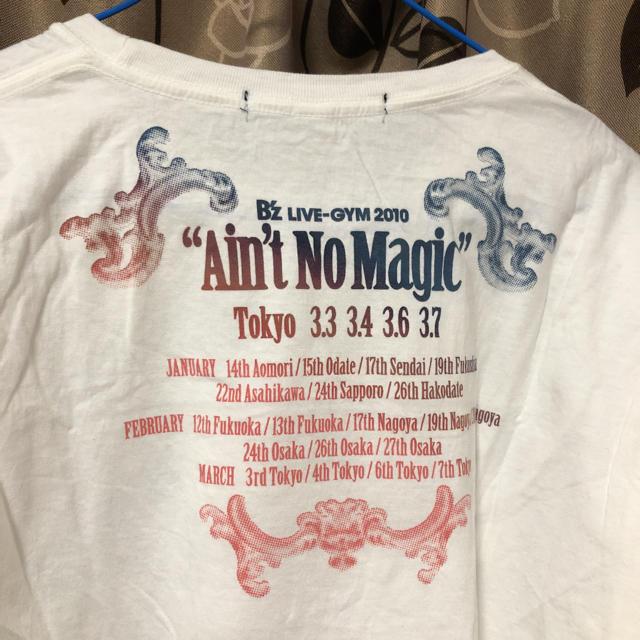 UNIQLO(ユニクロ)の一度のみ着用!B'z LIVE-GYM MAGIC Tシャツ エンタメ/ホビーのタレントグッズ(ミュージシャン)の商品写真