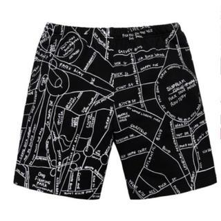 シュプリーム(Supreme)のSサイズ supreme gonz embroidered map short(ショートパンツ)