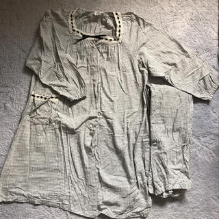 美品☆マタニティ パジャマ 長袖 授乳服(マタニティパジャマ)