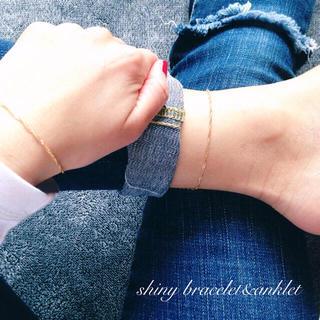 simple anklet&bracelet(アンクレット)