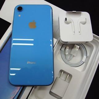 アップル(Apple)のSIMフリー docomo iPhone XR 128GB Blue(スマートフォン本体)