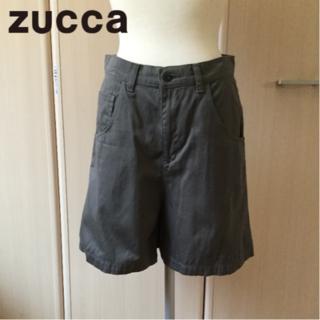 ズッカ(ZUCCa)の【美品】ズッカZUCCaハーフパンツSサイズカーキ(ハーフパンツ)