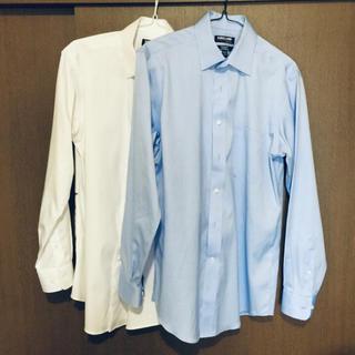 コストコ(コストコ)のコストコオリジナル ワイシャツ 白/青2着(シャツ)