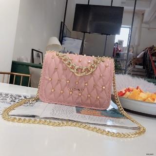 b018a0bf7375 ミュウミュウ(miumiu)のMIUMIU チェーンショルダーバッグ ピンク(ショルダーバッグ)