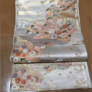 ニシジン(西陣)の格安!留め袖、訪問着向き 西陣織 御所解き模様の優美な袋帯(帯)