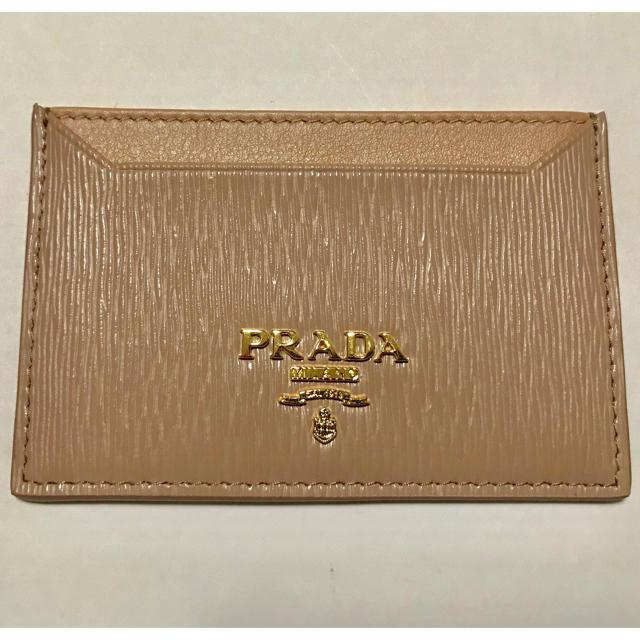 42f98c14dcc3 PRADA - 新品 プラダ PRADA カードケース 定期入れ 名刺入れの通販 by Y ...