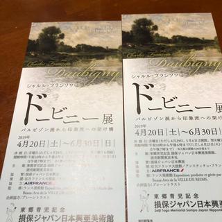 ドービニー展 損保ジャパン日本興亜美術館 ペア(美術館/博物館)