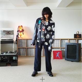 サンシー(SUNSEA)のSUNSEA Keef's GIGOLO shirt black(シャツ)