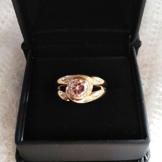 ブラウンダイヤモンドのリング(鑑別書付き)(リング(指輪))