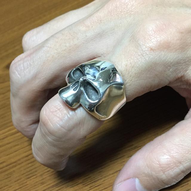 スカルリング メンズのアクセサリー(リング(指輪))の商品写真