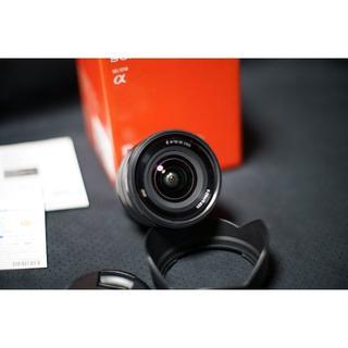 ソニー(SONY)のソニー E 10-18mm F4 OSS(sony SEL1018)保証残(レンズ(ズーム))
