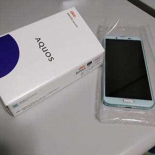 新品 AQUOS sense2 SHV43 グリーン SIMロック解除済 ○(スマートフォン本体)