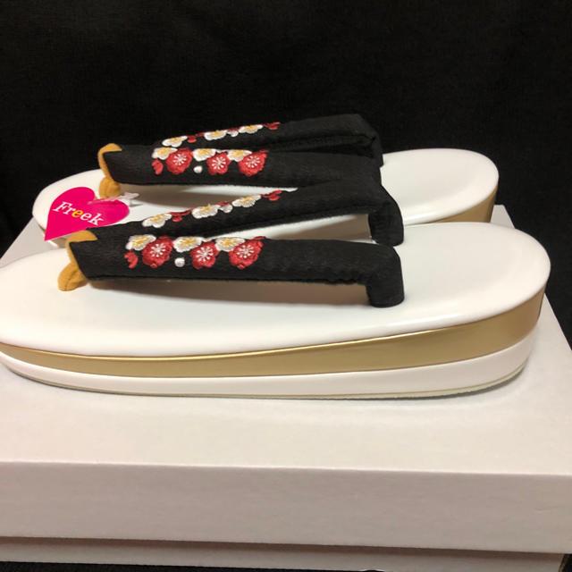 りゃん様専用 草履 レディースの水着/浴衣(振袖)の商品写真