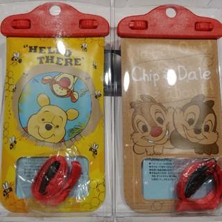 ディズニー(Disney)の《プーさん:チップ&デール》防水スマホケース(モバイルケース/カバー)