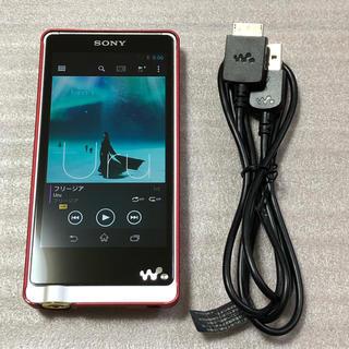 ウォークマン(WALKMAN)のSONY WALKMAN  NW-ZX1 完動品 おまけカバー付き(ポータブルプレーヤー)