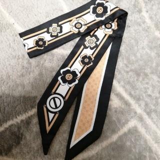 ザラ(ZARA)の新品モノトーンスカーフ(バンダナ/スカーフ)