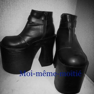 アリスアウアア(alice auaa)のMana様着用Moi-même-moitiéショートブーツ(ブーツ)
