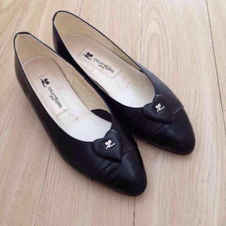 クレージュ(Courreges)のクレージュ革靴(ハイヒール/パンプス)