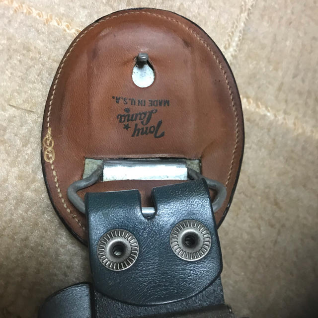 Tony Lama(トニーラマ)の激レア  トニーラマ オーストリッチバックル 新品 ベルト メンズのファッション小物(ベルト)の商品写真