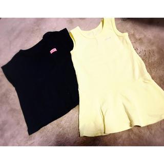 エックスガールステージス(X-girl Stages)のxgs ティーシャツ セット ワンピース(ワンピース)