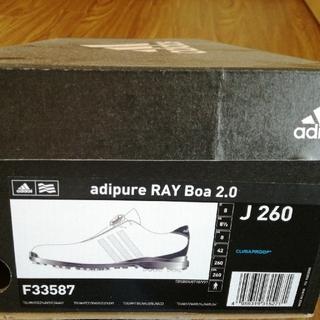 アディダス(adidas)のadidasゴルフ アディピュアadipure RAYboa2.0 新品未使用(シューズ)