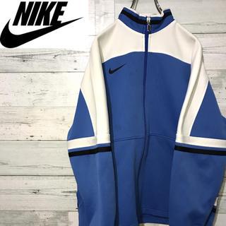 ナイキ(NIKE)の【激レア】ナイキ Nike☆刺繍ロゴ 90sデザイン トラックジャケット(ジャージ)