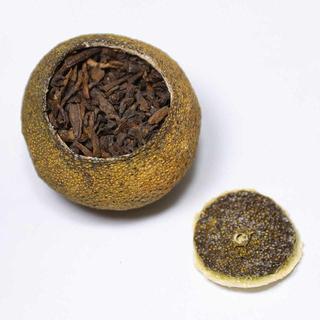 中国茶 小青柑~特級~(黒茶、2個)(茶)