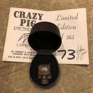 クレイジーピッグ(CRAZY PIG)の激レア365個限定クレイジーピッグCRAZYPIGキースリング(リング(指輪))