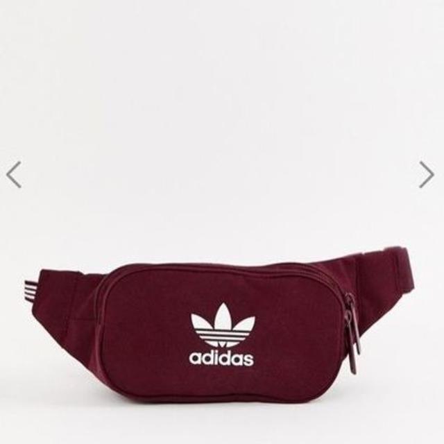 adidas(アディダス)の☆レア☆ adidas ウエストバッグ レッド ★新品・未使用・タグ付き★ レディースのバッグ(ボディバッグ/ウエストポーチ)の商品写真