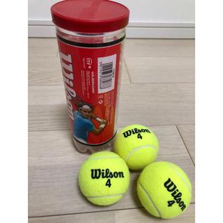 ウィルソン(wilson)のテニスボール3個(ボール)