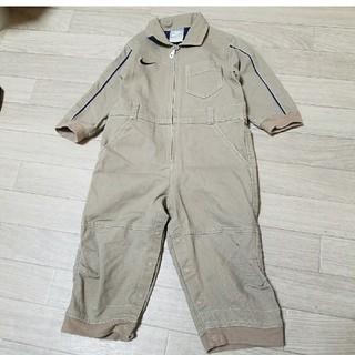 ナイキ(NIKE)のNIKE ナイキ キッズ 子供 ジャンプスーツ つなぎ カバーオール  80  (カバーオール)