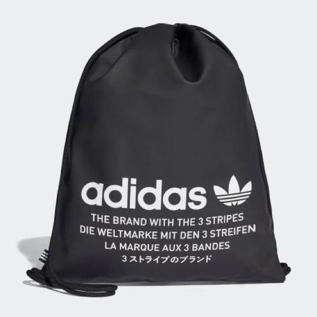 adidas(アディダス)の黒   NMD  ジムサック メンズのバッグ(バッグパック/リュック)の商品写真