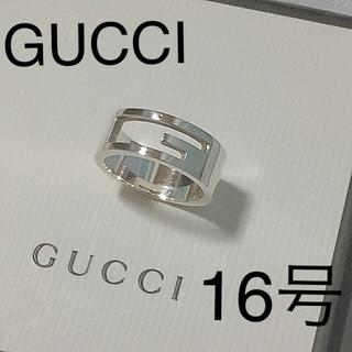 グッチ(Gucci)のグッチ16 ブランデッドリング (定価25.920円)アイコンリング(リング(指輪))