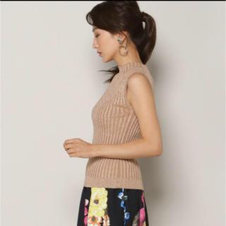 アンドクチュール(And Couture)のタグ付き新品未使用 アンドクチュール トップス サマーニット(カットソー(半袖/袖なし))