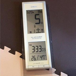 カシオ(CASIO)のCasio カレンダー 掛け時計☆(掛時計/柱時計)