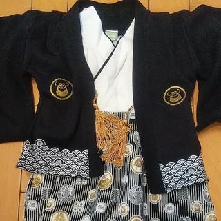 【袴ロンパース70】モンスターズインク ディズニー(和服/着物)