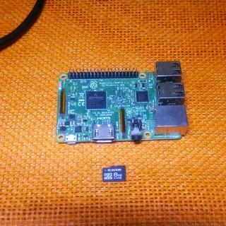 Raspberry pi3 MODEL B SDカード8G付(その他)