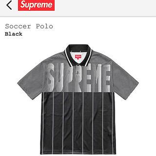 シュプリーム(Supreme)の【送料無料】SUPREME Soccer Polo(ポロシャツ)