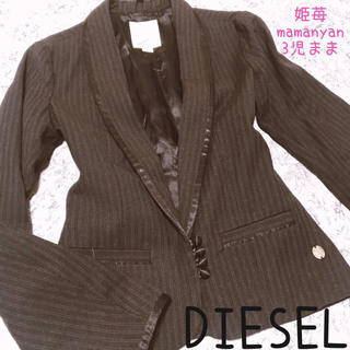 ディーゼル(DIESEL)の大人気♡春♡テーラード♡ジャケット♡スタイルアップ♡オシャレ♡着回し♡映え♡JK(テーラードジャケット)