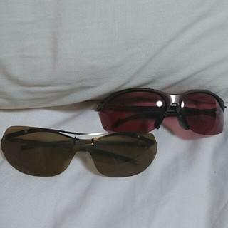 ユニクロ(UNIQLO)のドライブサングラス2個SET(サングラス/メガネ)