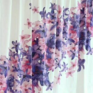 レディー(Rady)の美品 rady エレガンスフラワー柄 カーテン 100×200(カーテン)