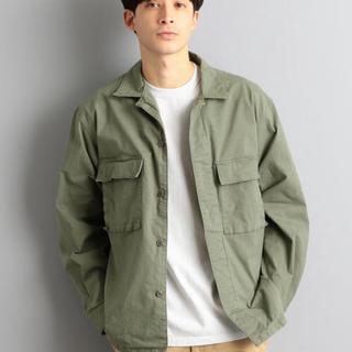 グリーンレーベルリラクシング(green label relaxing)のミリタリージャケット シャツ(ミリタリージャケット)