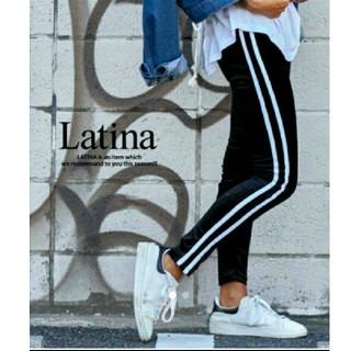 アナップラティーナ(ANAP Latina)のANAP LATINA ライン ベロアレギンス(その他)