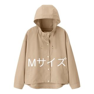 ジーユー(GU)のgu☆マウンテンパーカー☆ベージュ☆Mサイズ☆新品☆完売(ブルゾン)