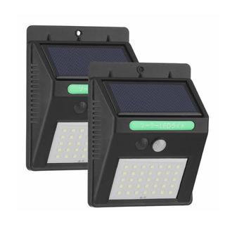 新品 ソーラーライト 2個セット MOOSOO 35LED センサーライト(その他)