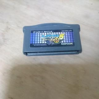 ゲームボーイアドバンス(ゲームボーイアドバンス)のGBA ロックマンエグゼ5 ブルース版(携帯用ゲームソフト)